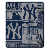 MLB New York Yankees 50x60 Fleece Throw Blanket
