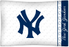 MLB New York Yankees Micro Fiber Pillow Cases (set of 2)