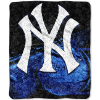 MLB New York Yankees SHERPA 50x60 Throw Blanket