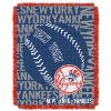 MLB New York Yankees 48x60 Triple Woven Jacquard Throw