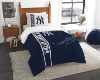MLB New York Yankees Twin Comforter with Sham
