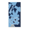NCAA North Carolina Tar Heels Colossal Beach Towel