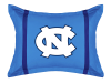 NCAA North Carolina Tar Heels Pillow Sham - MVP Series