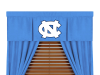 NCAA North Carolina Tar Heels Valance - MVP Series