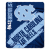 NCAA North Carolina Tar Heels 50x60 Fleece Throw Blanket