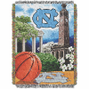 NCAA North Carolina Tar Heels Home Field Advantage 48x60 Tapestry Throw