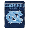 NCAA North Carolina Tar Heels OVERTIME 60x80 Super Plush Throw