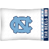 NCAA North Carolina Tar Heels Micro Fiber Pillow Cases (set of 2)