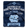NCAA North Carolina Tar Heels 50x60 Raschel Throw Blanket