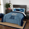 NCAA North Carolina Tar Heels QUEEN Comforter and 2 Shams