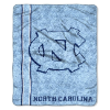 NCAA North Carolina Tar Heels Sherpa 50x60 Throw Blanket