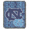 NCAA North Carolina Tar Heels FOCUS 48x60 Triple Woven Jacquard Throw
