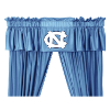 NCAA North Carolina Tar Heels Valance - Locker Room Series