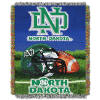 NCAA North Dakota Fighting Sioux Home Field Advantage 48x60 Tapestry Throw