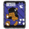 NCAA Northwestern Wildcats Baby Blanket