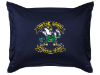 NCAA Notre Dame Fighting Irish Pillow Sham - Locker Room Series