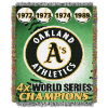 MLB Oakland A's Commemorative 48x60 Tapestry Throw