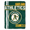 MLB Oakland A's 50x60 Micro Raschel Throw