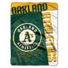 MLB Oakland A's 60x80 Super Plush Throw Blanket