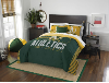 MLB Oakland A's QUEEN Comforter and 2 Shams