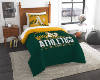 MLB Oakland A's Twin Comforter Set