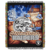 NFL Oakland Raiders Home Field Advantage 48x60 Tapestry Throw
