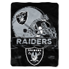 NFL Oakland Raiders 60x80 Super Plush Throw Blanket