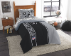 NFL Oakland Raiders TWIN Size Bed In A Bag