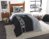 NFL Oakland Raiders Twin Comforter with Sham