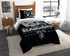 NFL Oakland Raiders Twin Comforter Set