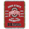 NCAA Ohio State Buckeyes Commemorative 48x60 Tapestry Throw