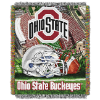 NCAA Ohio State Buckeyes Home Field Advantage 48x60 Tapestry Throw