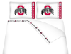 NCAA Ohio State Buckeyes Micro Fiber Bed Sheets