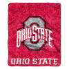 NCAA Ohio State Buckeyes Sherpa 50x60 Throw Blanket