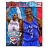NBA Oklahoma City Thunder Russell Westbrook 50x60 Silk Touch Blanket