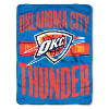 NBA Oklahoma City Thunder 50x60 Micro Raschel Throw