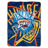 NBA Oklahoma City Thunder SHADOW 60x80 Super Plush Throw