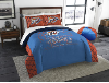 NBA Oklahoma City Thunder QUEEN Comforter and 2 Shams
