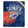 NBA Oklahoma City Thunder SHERPA 50x60 Throw Blanket