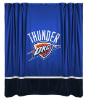 NBA Oklahoma City Thunder Shower Curtain