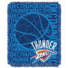 NBA Oklahoma City Thunder 48x60 Triple Woven Jacquard Throw