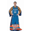 NBA Oklahoma City Thunder Uniform Huddler Blanket With Sleeves
