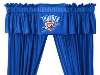 NBA Oklahoma City Thunder Valance - Locker Room Series