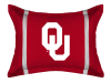 NCAA Oklahoma Sooners Pillow Sham - MVP Series