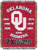 NCAA Oklahoma Sooners Commemorative 48x60 Tapestry Throw