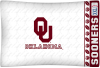 NCAA Oklahoma Sooners Micro Fiber Pillow Cases (set of 2)