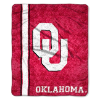 NCAA Oklahoma Sooners Sherpa 50x60 Throw Blanket