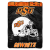 NCAA Oklahoma State Cowboys OVERTIME 60x80 Super Plush Throw