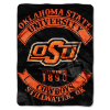 NCAA Oklahoma State Cowboys 60x80 Super Plush Throw
