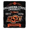 NCAA Oklahoma State Cowboys 50x60 Raschel Throw Blanket